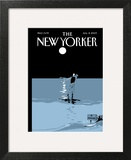 The New Yorker Cover - August 31, 2009 Art Print by Istvan Banyai