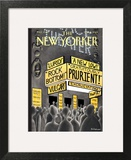The New Yorker Cover - March 5, 2001 Print by Ian Falconer