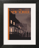 Unmasked - The New Yorker Cover, November 2, 2009 Wall Art by Chris Ware