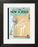 Rite of Spring - The New Yorker Cover, April 2, 2012 Wall Art by George Booth