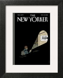 The New Yorker Cover - November 12, 2012 Wall Art by Adrian Tomine