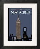 The New Yorker Cover - October 3, 2005 Wall Art by Chris Ware
