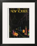 The New Yorker Cover - February 7, 1959 Art Print by Robert Kraus