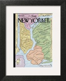 "The New Yorker Cover, ""New Yorkistan"" - December 10, 2001 Posters by Maira Kalman & Rick Meyerowitz"
