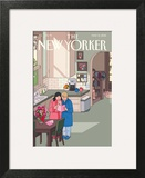 Mothers' Day - The New Yorker Cover, May 13, 2013 Art Print by Chris Ware