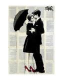 Rain Dancing Print by Loui Jover