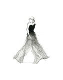 Fade to White Dress Print by Jessica Durrant