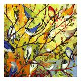 Jennifer Lommers - 16 Birds - Poster