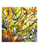 16 Birds Kunst af Jennifer Lommers