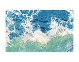 Twisting and Twirling Waves Poster von Margaret Juul