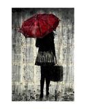 Feels Like Rain Plakat autor Loui Jover