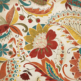 Boho Paisley Spice II Prints by  Wild Apple Portfolio