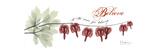 Bleeding Heart Believe Premium Giclee Print by Albert Koetsier