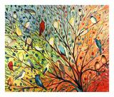 27 Birds Plakat autor Jennifer Lommers