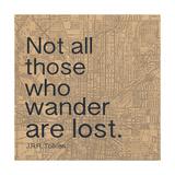 Wander Premium Giclee Print by Lauren Gibbons