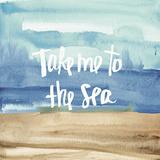 Coastal Breeze Quotes II Kunst af Anne Tavoletti