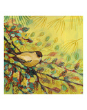 Goldfinch Resting Posters by Jennifer Lommers