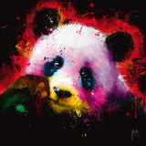 Panda Pop Giclée-Druck von Patrice Murciano