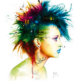 Fashion Punk Giclee Print by Patrice Murciano