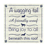 Wagging Tail Premium Giclee Print by Lauren Gibbons