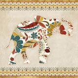 Boho Elephant I Kunst af Wild Apple Portfolio