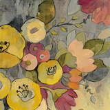 Yellow Floral Duo I Prints by Silvia Vassileva