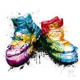 My Shoes Giclee Print by Patrice Murciano
