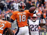 AFC Championship Football Photographic Print by Charlie Riedel