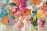 Colorful Garden I Crop Plakat af Silvia Vassileva