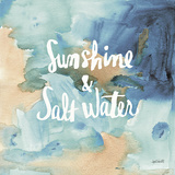 Coastal Breeze Quotes I Posters af Anne Tavoletti