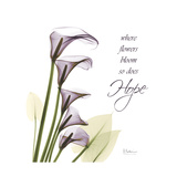 Calla Hope Premium Giclee Print by Albert Koetsier
