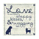 Love Pups 2 Premium Giclee Print by Lauren Gibbons