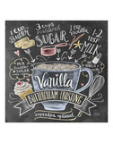 Vanilla Frosting Art by LLC., Lily & Val