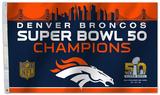 Super Bowl 50 Denver Broncos Flag Flag