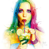 Salsa Caliente Giclee Print by Patrice Murciano