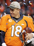 Broncos-Manning Photographic Print by Charlie Riedel