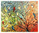 27 Birds Plakater af Jennifer Lommers
