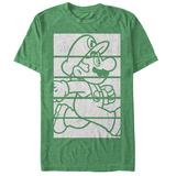 Super Mario- Running Blocks T-skjorte