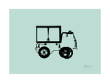 Toy Truck Premium Giclee Print by Albert Koetsier