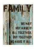 Family Grunge 4 Premium Giclee Print by Diane Stimson