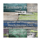 Laundry Prayer Premium Giclee Print by Diane Stimson