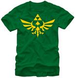 Legend Of Zelda- Triumphant Triforce Camiseta