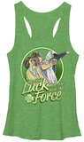 Juniors Tank Top: Star Wars- Force Luck T-shirts
