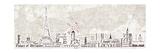 Paris Skyline Premium Giclee Print by Diane Stimson