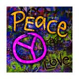 Graffiti Peace Premium Giclee Print by Diane Stimson