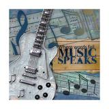 Music Speaks Art by Diane Stimson