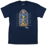 Legend Of Zelda- Stained Glass T-shirts
