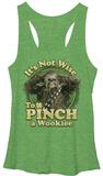 Juniors Tank Top: Star Wars- Don't Pinch A Wookie T-shirts
