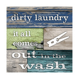 Dirty Laundry Premium Giclee Print by Diane Stimson