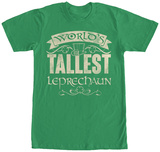 World's Tallest Leprechaun T-Shirts